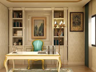 140平米欧式风格书房图