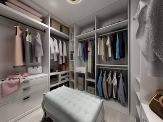 20万以上140平米三室两厅欧式风格衣帽间图片大全