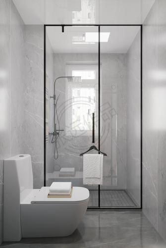 豪华型130平米三室两厅中式风格卫生间装修案例