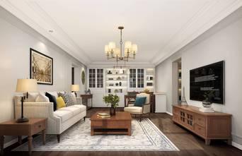 豪华型120平米三室一厅美式风格客厅设计图