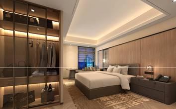 20万以上140平米四室两厅混搭风格卧室装修案例