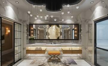 豪华型140平米别墅新古典风格卫生间设计图