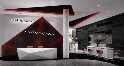 10-15万80平米一居室公装风格其他区域装修案例