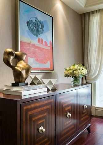 豪华型100平米三室一厅欧式风格书房图