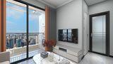 经济型40平米小户型现代简约风格客厅图