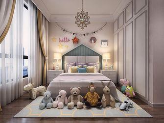 140平米三美式风格卧室图