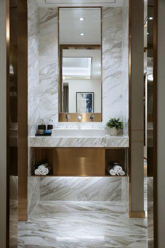 10-15万90平米三室两厅现代简约风格卫生间装修案例