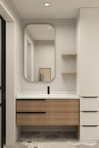5-10万80平米公寓北欧风格卫生间欣赏图