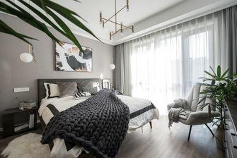 10-15万110平米三室一厅北欧风格卧室图