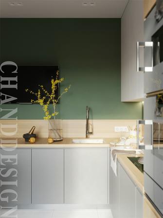 20万以上70平米一室一厅北欧风格厨房欣赏图