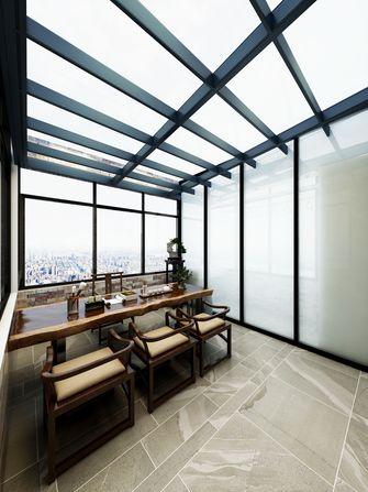 140平米复式现代简约风格阳光房效果图