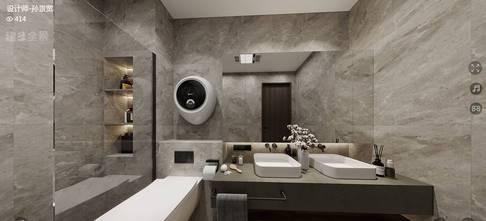 豪华型90平米现代简约风格卫生间装修效果图