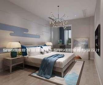 20万以上140平米三中式风格卧室装修案例