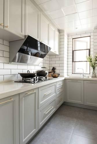 15-20万120平米三室两厅欧式风格厨房装修效果图