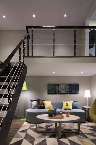 5-10万50平米复式田园风格楼梯间效果图