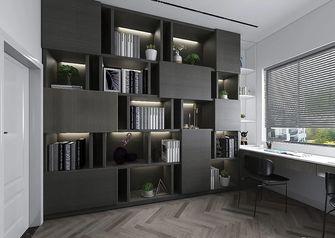 豪华型140平米三室两厅法式风格书房装修效果图