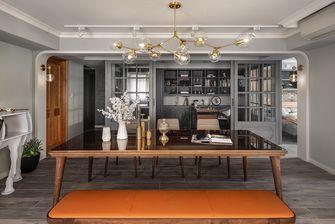 豪华型140平米三室一厅欧式风格书房图片