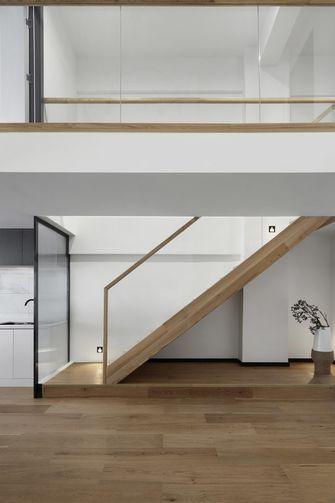 经济型90平米复式现代简约风格楼梯间设计图