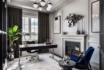 15-20万140平米别墅美式风格书房图片