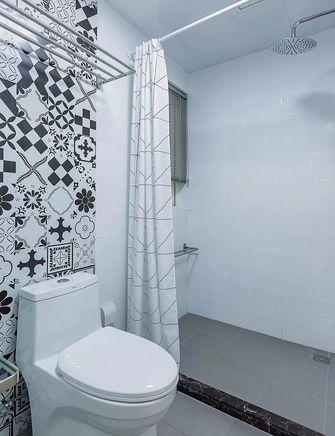 经济型110平米三室两厅北欧风格卫生间装修图片大全