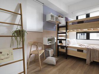 10-15万80平米三室两厅田园风格青少年房设计图