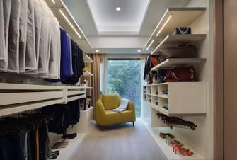 5-10万130平米三室两厅中式风格衣帽间图片大全