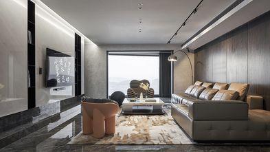 富裕型80平米三室两厅工业风风格客厅图片大全