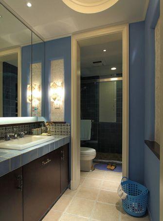 15-20万110平米三室两厅地中海风格卫生间设计图