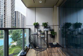140平米四室两厅现代简约风格阳台装修案例