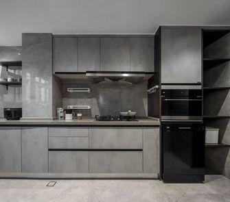110平米三室一厅混搭风格厨房欣赏图