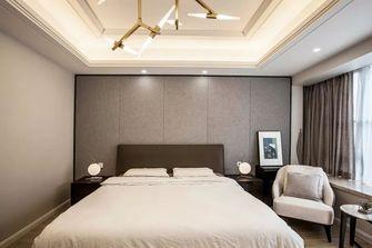 豪华型140平米四室一厅现代简约风格卧室装修图片大全