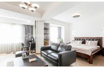 100平米复式北欧风格卧室装修案例