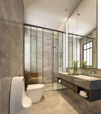 经济型140平米四室两厅轻奢风格卫生间图片