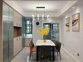 富裕型100平米三室一厅中式风格客厅效果图