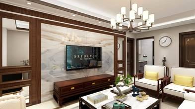 豪华型140平米四室三厅中式风格客厅设计图