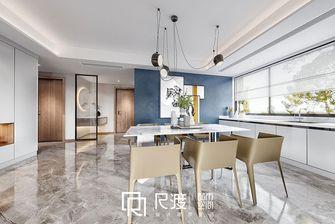 富裕型140平米四室两厅轻奢风格餐厅效果图