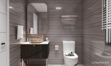 20万以上140平米轻奢风格卫生间装修案例