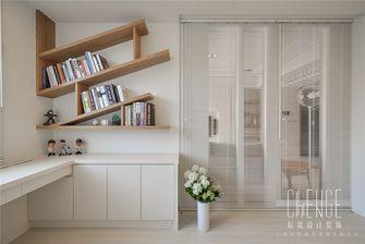 富裕型90平米日式风格书房装修案例
