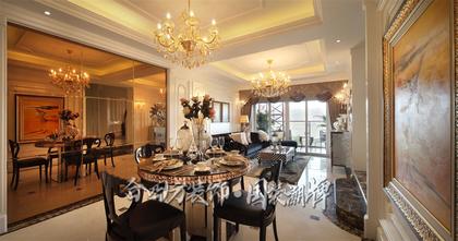 富裕型90平米三法式风格其他区域设计图