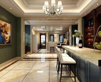 20万以上140平米复式美式风格餐厅设计图