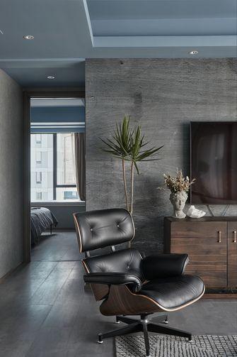 豪华型140平米三室一厅工业风风格书房装修图片大全