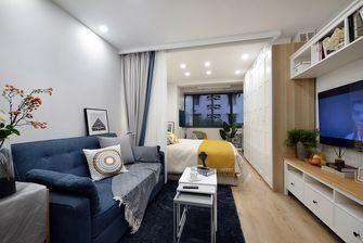 富裕型30平米超小户型北欧风格客厅图片
