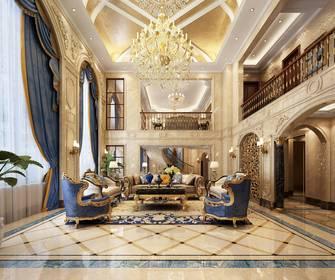 20万以上140平米别墅欧式风格客厅效果图
