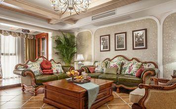 3万以下100平米三室一厅地中海风格客厅图