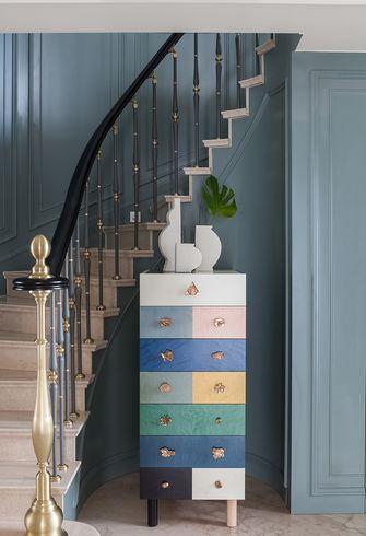 15-20万140平米别墅美式风格楼梯间欣赏图