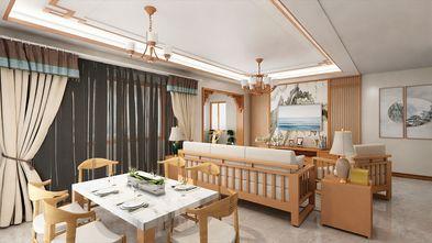 130平米四室两厅中式风格餐厅图片