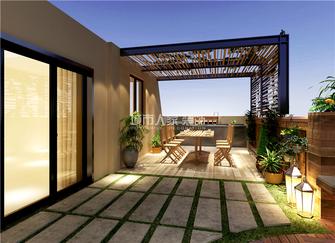 5-10万140平米复式欧式风格阳光房图
