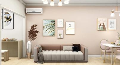 5-10万60平米一居室北欧风格客厅图片