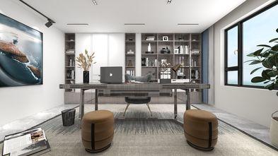 140平米复式现代简约风格书房装修图片大全