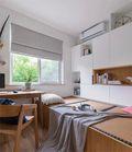 经济型80平米北欧风格书房装修效果图